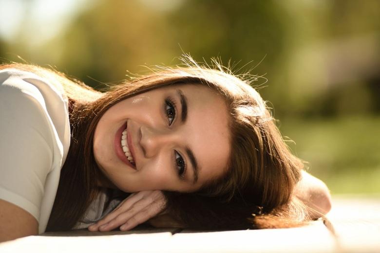 beautiful girl nice teeth and hair_smaller