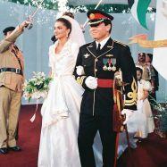 الملكة رانيا في عرسها