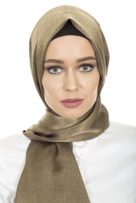 hijab-golden colour